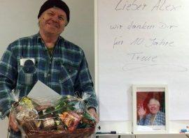 Mitarbeiter Alexander Martin geehrt